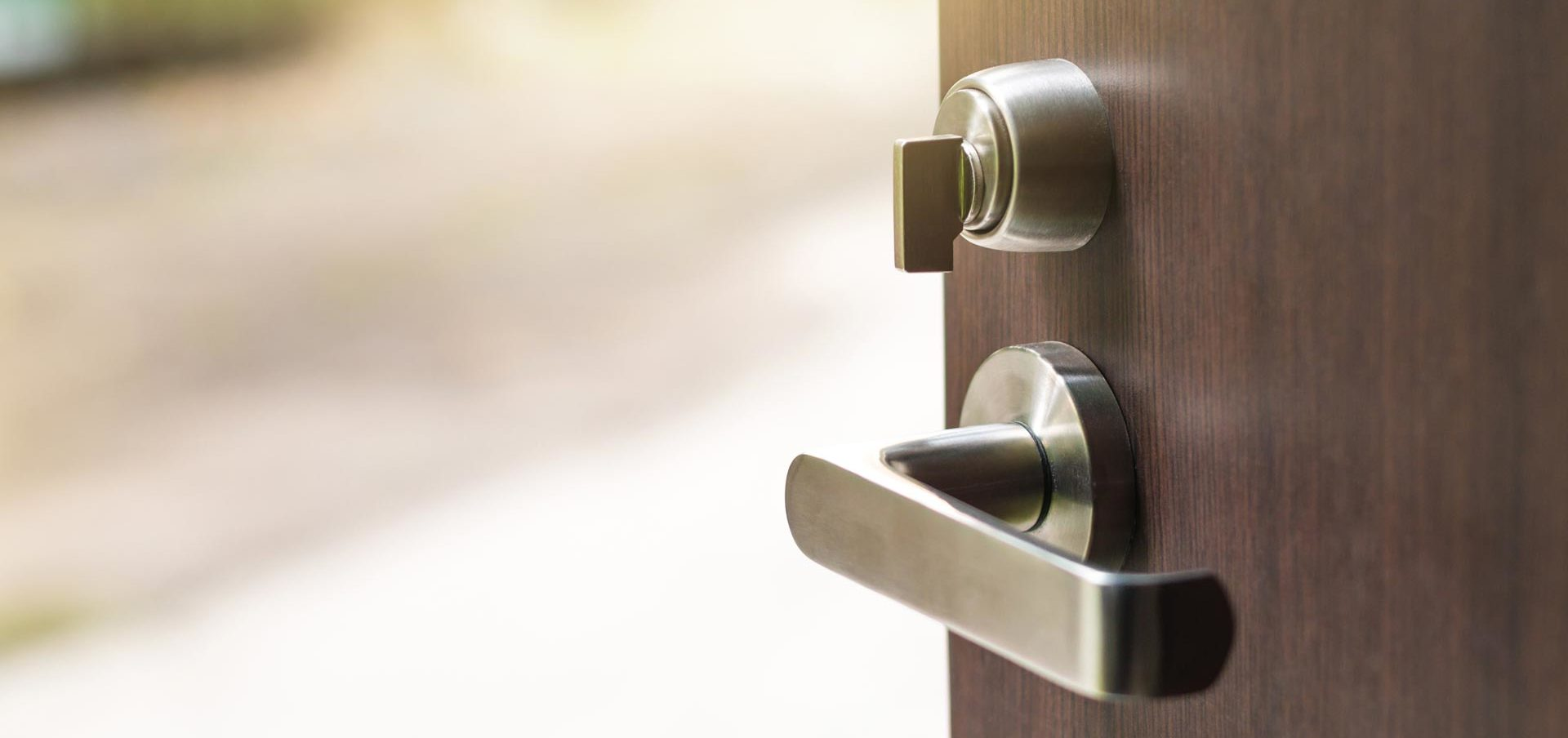 Locking and unlocking from the outside